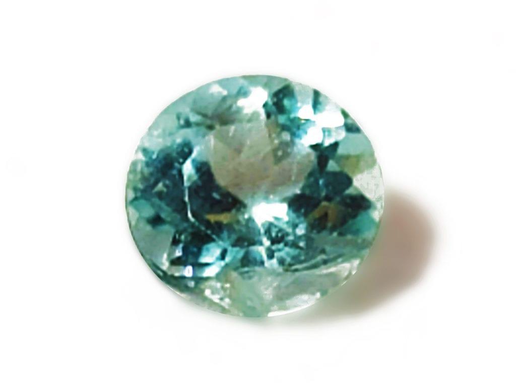 aquamarine round