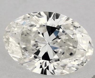 Oval Diamond With a Bowtie