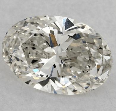 VS2 oval-cut diamond from James Allen