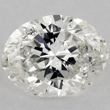 SI1 Oval Cut Diamond from James Allen