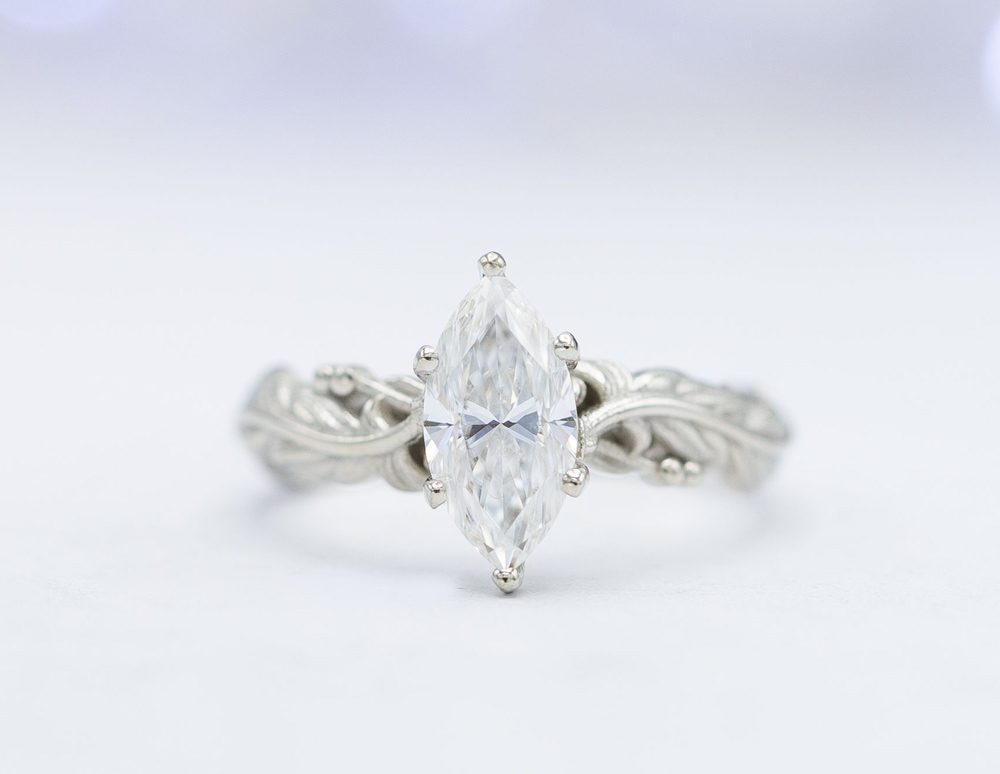 customade marquis ring