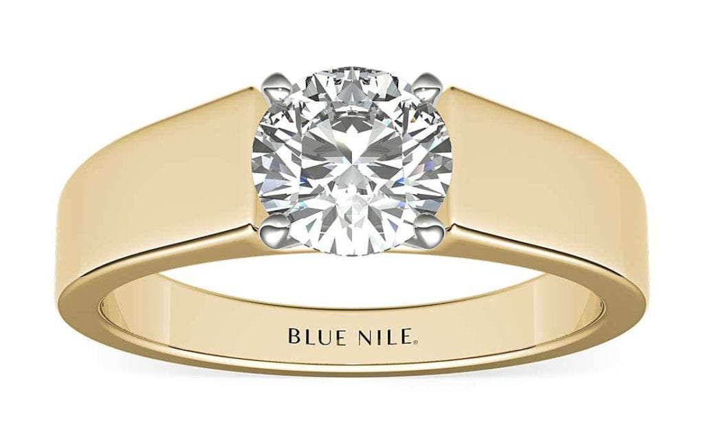 Wide Band Solitaire