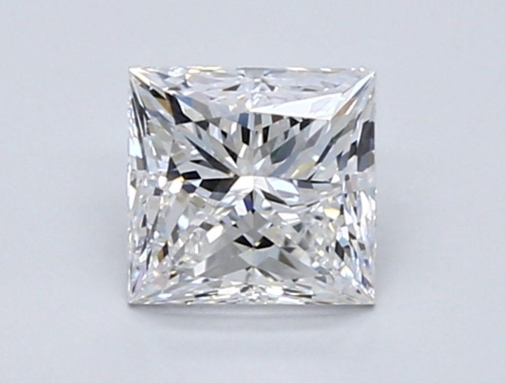 1.00-Carat Princess Cut Diamond