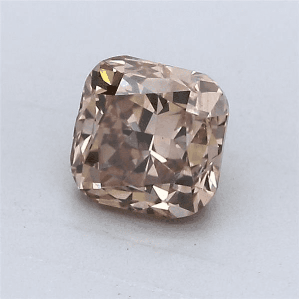 360 Video - Actual diamond magnified NEED HELP? 1-888-565-7641 Email Us 1.05-Carat Pink Brown Cushion Cut Diamond Blue Nile