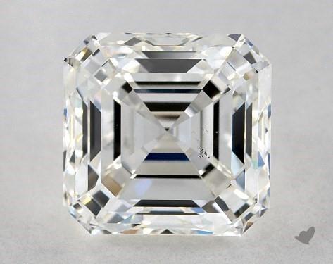 2.01 Carat asscher diamond James Allen
