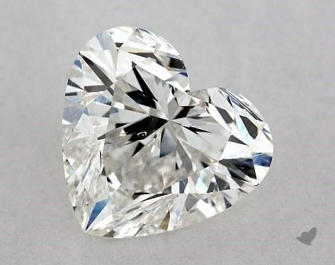 2.01 Carat heart diamond James Allen