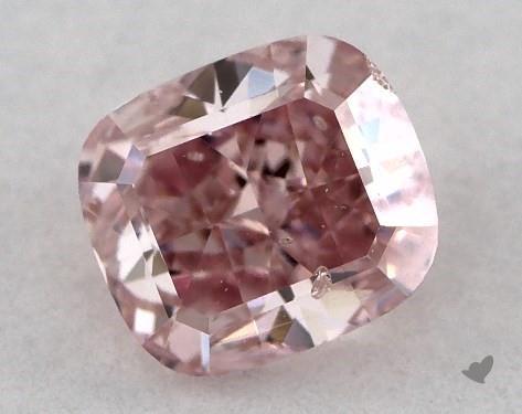 0.44 carat modified cushion pink diamond James Allen