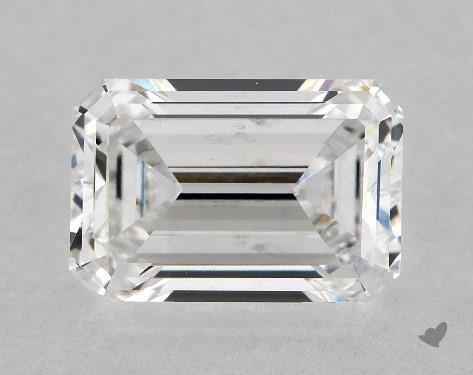 Lab-Created 1.32 Carat emerald diamond