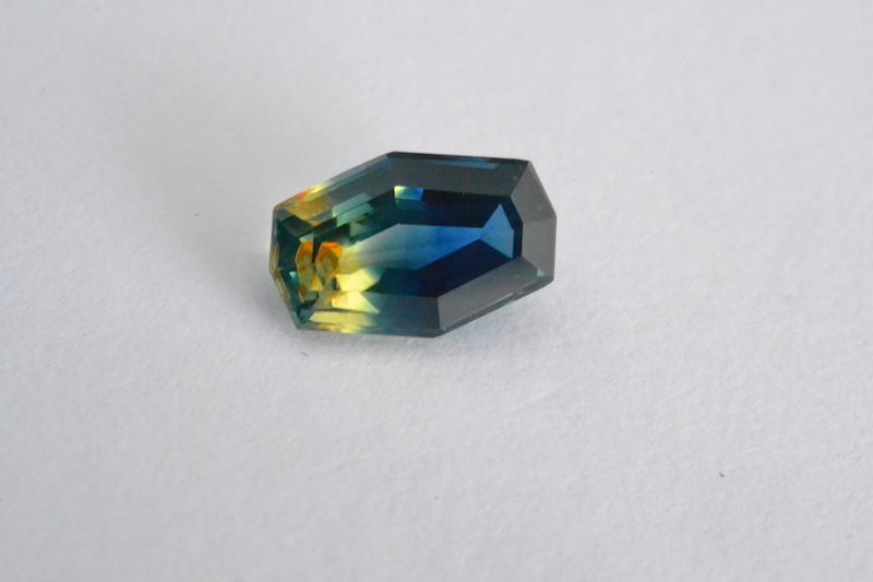 parti sapphire - medium tone, vivid saturation