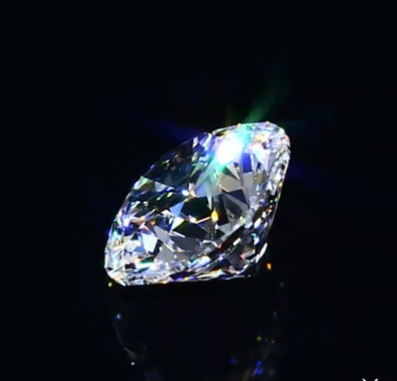 0.92 ct D VVS2 A CUT ABOVE® Hearts and Arrows Diamond side white flash