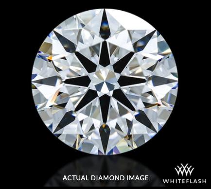 0.92 ct D VVS2 A CUT ABOVE® Hearts and Arrows Diamond white flash