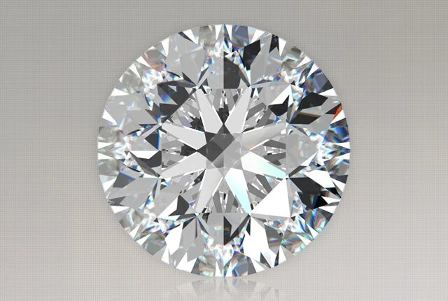 1.29 Carat Round Diamond Ritani