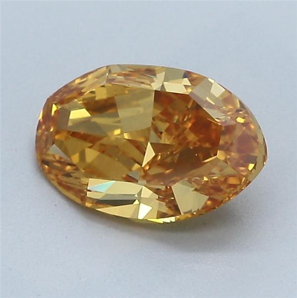1.38-Carat Vivid Yellowish Orange Oval Diamond by Blue Nile