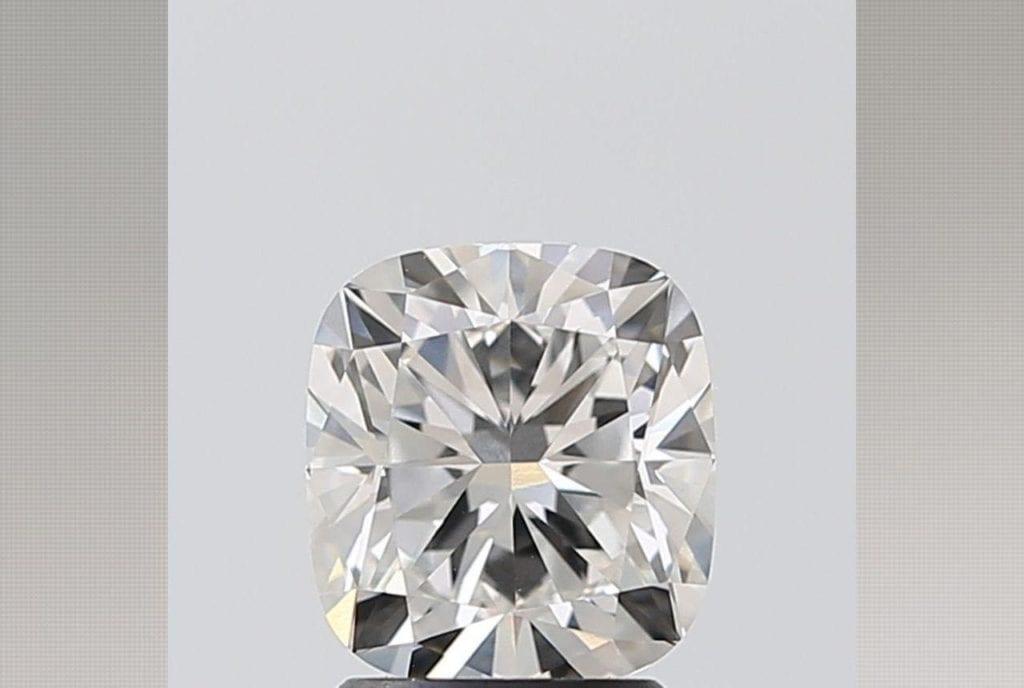 2.02 Carat Cushion Lab Diamond Ritani