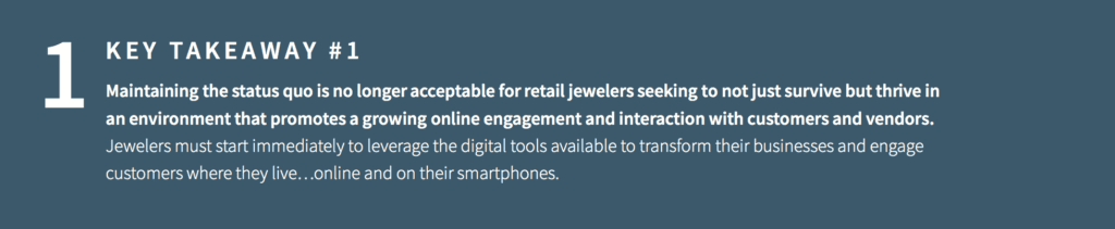Covid Changing Retail Jewelry - Takeaway 1