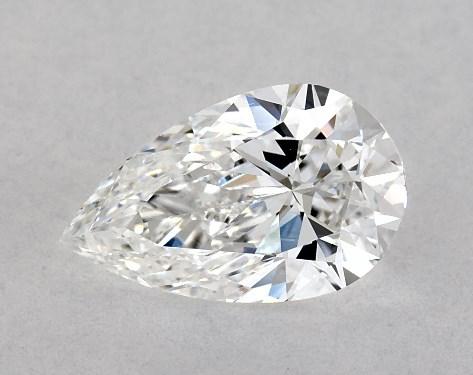 0.82 Carat Pear Diamond D Color VVS2 Clarity James Allen
