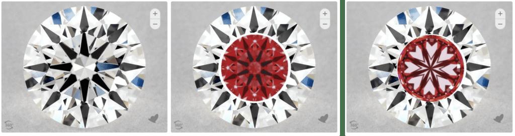 1.19 Carat Round Diamond G Color VVS2 Clarity True Hearts Cut James Allen