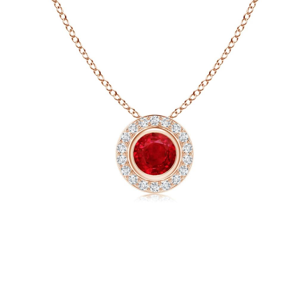 Ruby Pendant Necklaces Angara