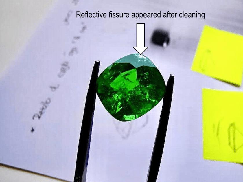 emerald transformation - reflective fissure
