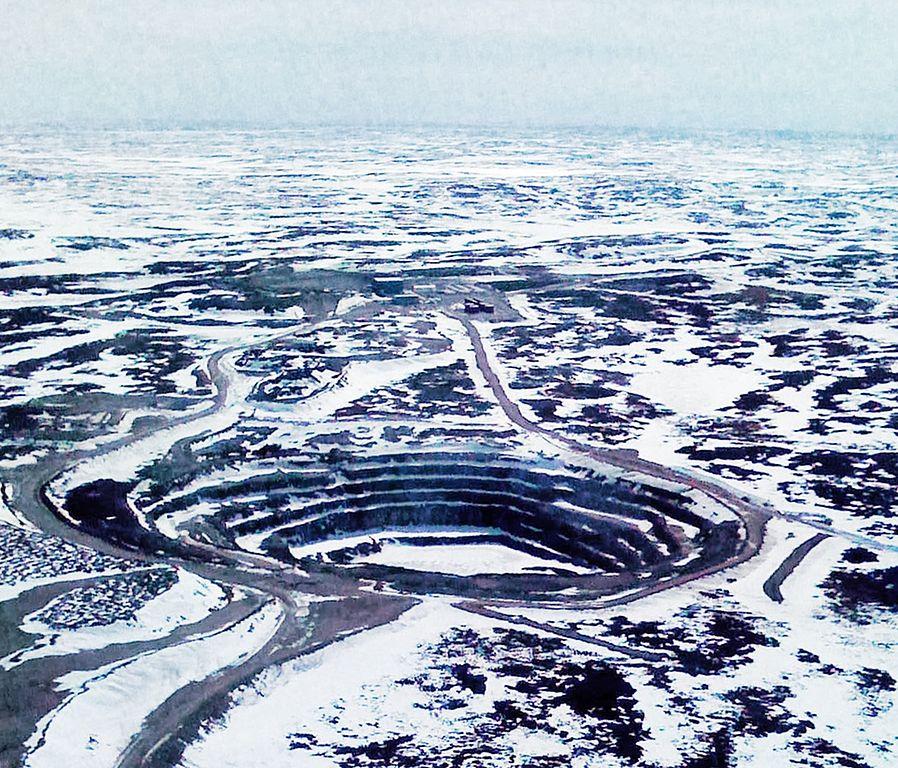 open pit diamond mining - Canada
