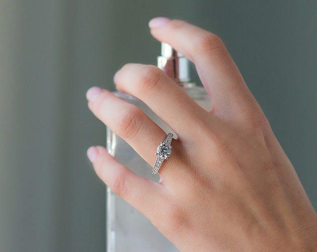 Platinum Honey Engagement Ring by Jeff Cooper James Allen