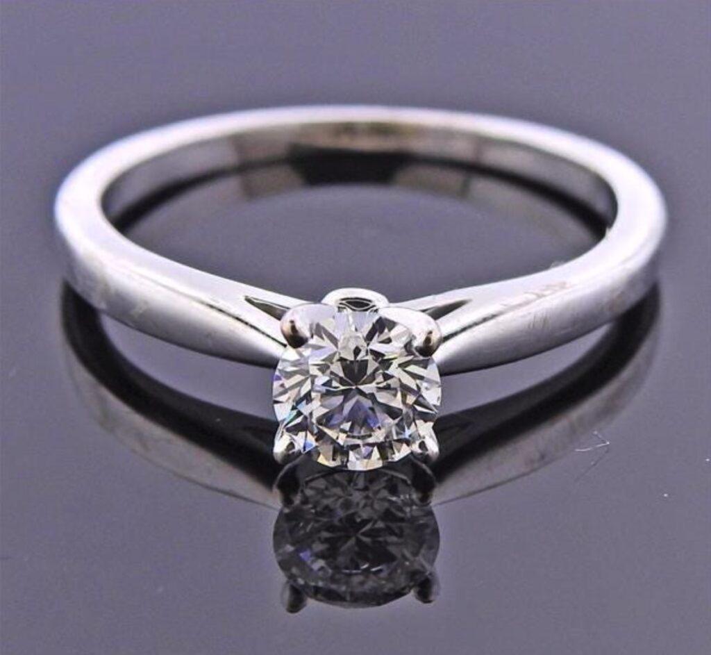 grading lab-grown diamonds - engagement ring