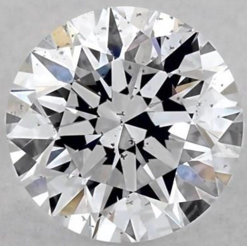 grading lab-grown diamonds - SI1 clarity